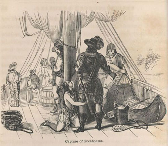 Pocahontas in Captivity