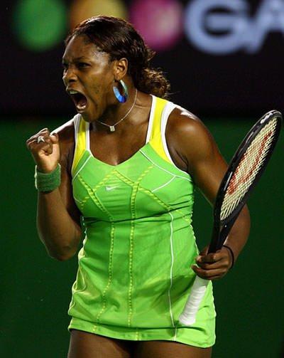 Serena at 2007 Australian Open