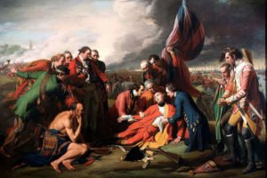 The Death of General Wolfe (1770)