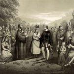 Pocahontas and John Rolfe wedding