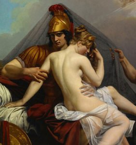 Ares and Aphrodite painting
