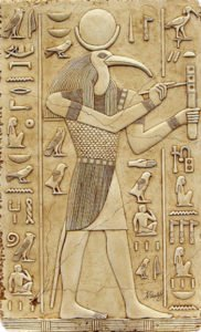 Thoth as a scribe