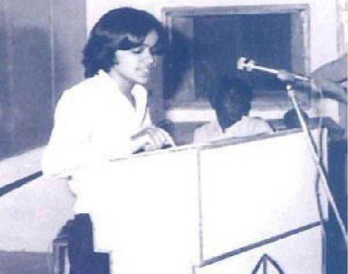 Kalpana Chawla as a student