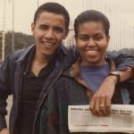 Michelle Robinson and Barack Obama