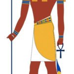 Thoth as an Ibis-headed man