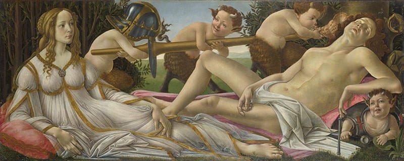 Venus and Mars (1485)