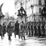 Adolf Hitler at Prague Castle in 1939