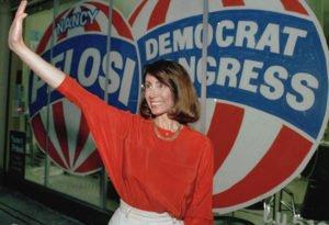 Nancy Pelosi in 1987