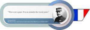 Ferdinand Foch on the Treaty of Versailles