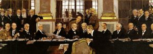 Signing of the Treaty of Versailles