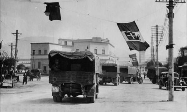 Italian forces in Albania
