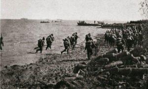 Japanese landing near Shanghai in 1937