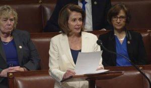 Nancy Pelosi - longest speech in Congress