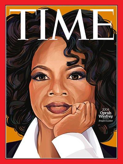 Oprah on TIME magazine