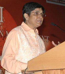 Kiran Bedi in 2009