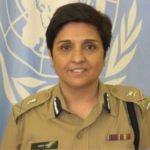 Kiran Bedi in police uniform