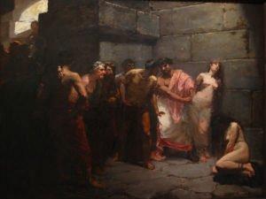Las Virgenes Cristianas Expuestas al Populacho (1884)