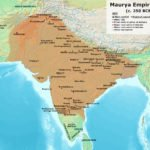 Ashoka Empire map