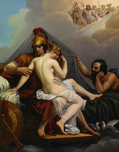 Ares and Aphrodite Surprised by Hephaestus