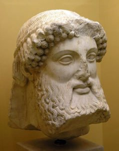 Bust of Hermes