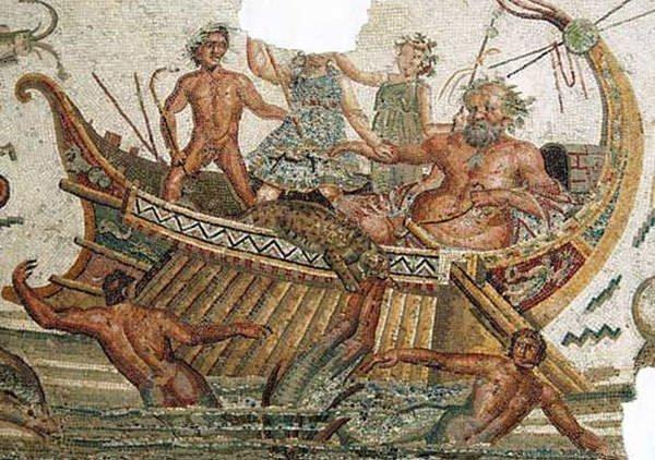 Dionysus and Tyrrhenian Pirates