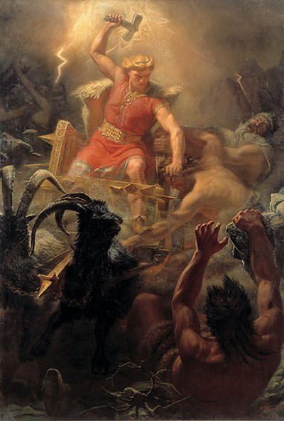 Thor's Fight with the Giants