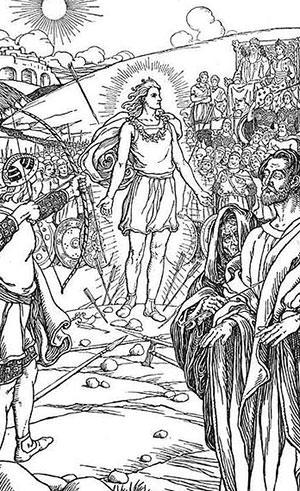 Norse God Baldr