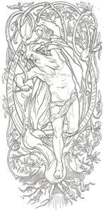Odin Yggdrasil tree