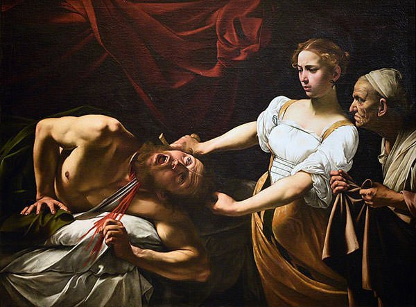 Judith Beheading Holofernes (1602)