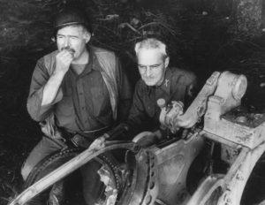 Ernest Hemingway and Charles T Lanham