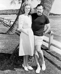 Hemingway with Martha Gellhorn