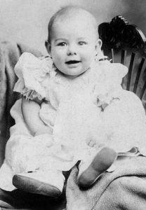 Ernest Hemingway as a baby