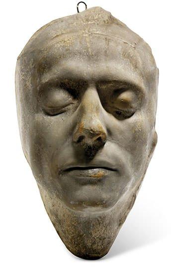 John Keats Death Mask at Christies